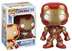 funko marvel iron movie action figure