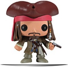 Pop Disney Series 4 Jack Sparrow Vinyl