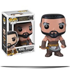 Pop Game Of Thrones Khal Drogo Vinyl