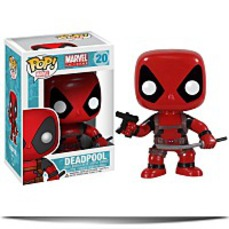 Pop Marvel Dead Pool Bobble Figure