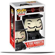 On SalePop Movies V For Vendetta Vinyl Figure