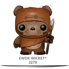 Pop Star Wars Wicket Bobble Figure