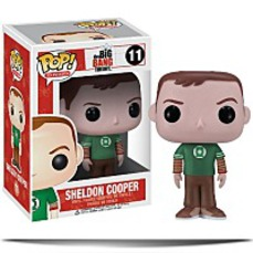 On SalePop Television Sheldon Cooper Green