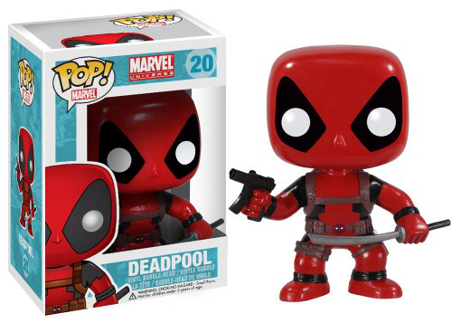 Funko Pop Marvel Dead Pool Bobble Figure