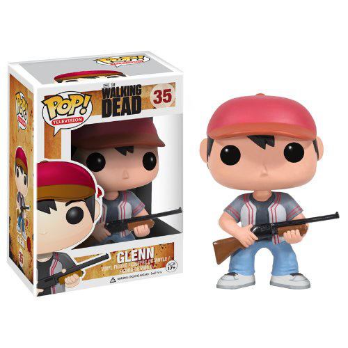 Pop Television Walking Dead Glenn Vinyl