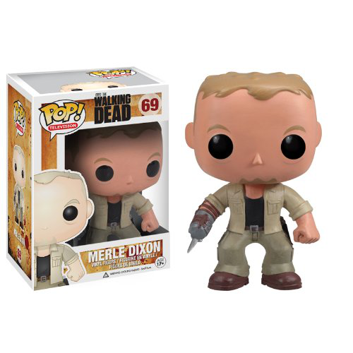 Pop Television Walking Dead Merle Vinyl