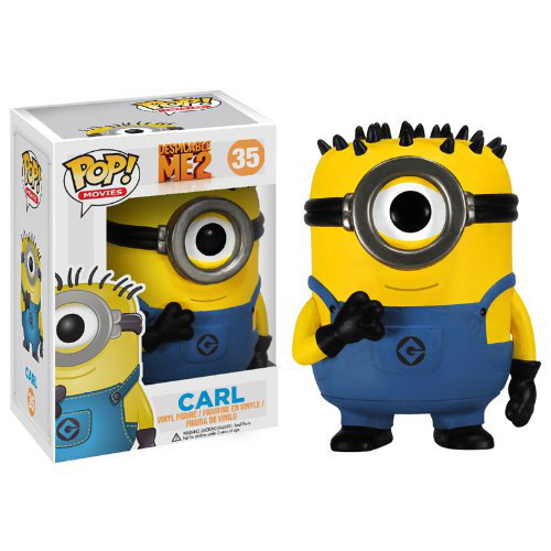 Pop Movies Despicable Me Carl Vinyl